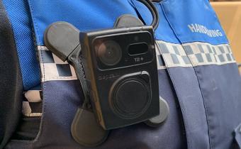 Bodycam op uniform handhavers gemeente Drimmelen